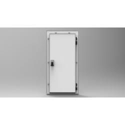 Распашная  дверь 1000х80