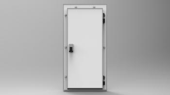 Распашная  дверь 1856х1000х80